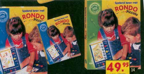 Wonderlijk k20149 Rondo Piccolo met boekje 3 jr en 4 jr VG-88