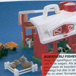 D14156 Fisher Price family boerderij + bak