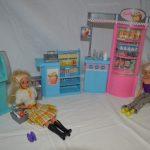 D14331 Barbie supermarkt