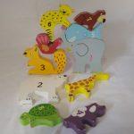 D14452 Fantasie speelgoed stapeldieren