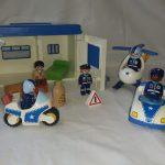 D14457 Playmobil 1-2-3 politieset