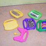 G18005 Set plastic muziek instrumenten