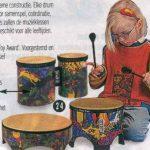 G18022 Drum set, kleine trom en dubbele trom
