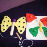 K20156 Rijgvlinder en vlinderpuzzel