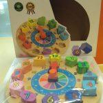 K20311 Houten puzzel klok