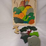 L21243 Houten puzzel jungle