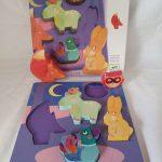 L21259 Houten puzzel 5 dieren