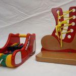 R26012 Muzikale schoen en rijg- veterschoen