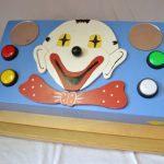R26025 Clownsplaat