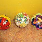 R26225 Set van 2 ballen met speelsleutel