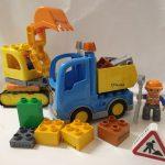 D14440 Duplo graafmachine met vrachtwagen