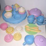 D14463 Speelset theeservies met cupcakes