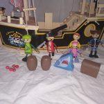 D14466 Houten piratenboot