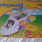 D14484 Vliegtuig, playmobil 1-2-3