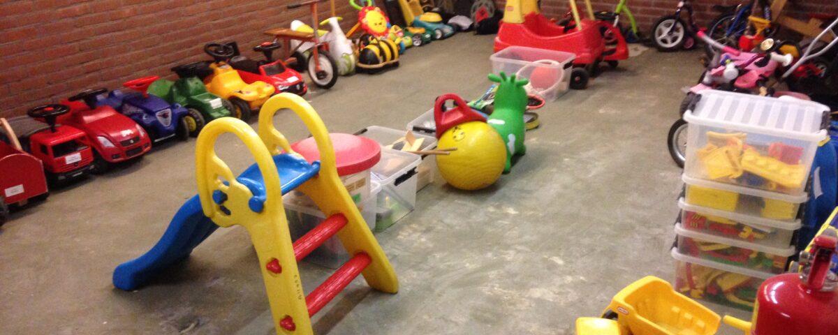 speelgoeduitleen grote materialen