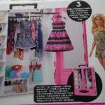 D14501 Barbie met kledingkast